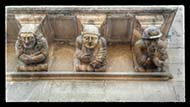 Cervera: balconada de la Paeria  Ramon Sunyer
