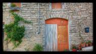 Sant Domí: porta  Ramon Sunyer