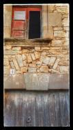 Santa Fe: detall llinda  Ramon Sunyer
