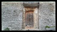 Montfalcó Murallat: detall casa  Ramon Sunyer