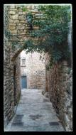 Montfalcó Murallat: portal  Ramon Sunyer