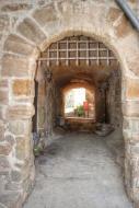 L'Aranyó: portal  Ramon Sunyer