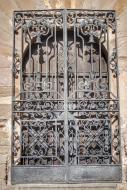 L'Aranyó: Porta forjada del castell  Ramon Sunyer