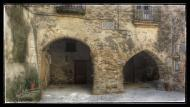 Palouet: Porxada vila-closa  Ramon Sunyer