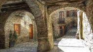 Sant Guim de la Plana: plaça major  Ramon Sunyer