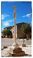 Sant Guim de la Plana: Creu  Ramon Sunyer
