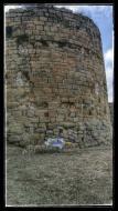 Talteüll: Castell conegut popularment com la torre dels Moros  Ramon Sunyer