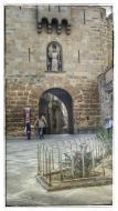 Guissona: portal de l'Àngel gòtic (XIV)  Ramon Sunyer