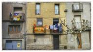 Guissona: plaça Capdevila  Ramon Sunyer
