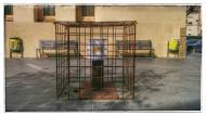 Guissona: Urna engabiada  Ramon Sunyer