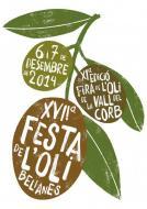 cartell 17a Festa de l'Oli de Belianes i 11a Fira de l'Oli de la Vall del Corb  2014