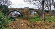 Sanaüja: Pont romànic  Ramon Sunyer