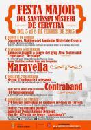 cartell Festa Major del Santíssim