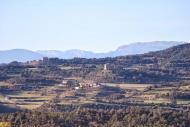 Sant Serni: Vista de Puigredon  Ramon Sunyer