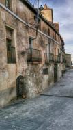 Pavia: detall carrer  Ramon Sunyer