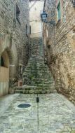 Freixenet de Segarra: antic portal de Cal Torreta  Ramon Sunyer