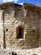 Massoteres: Ermita de Sant Simeó  Isidre Blanc