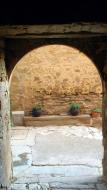 Sant Martí de la Morana: portal  Ramon Sunyer