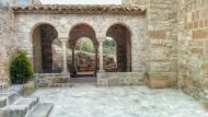 Veciana: Atri Santa Maria neoromànic s XX  Ramon Sunyer