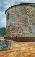 Veciana: Santa Maria romànic s XII  Ramon Sunyer