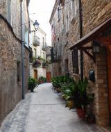 El Llor: detall carrer  Ramon Sunyer