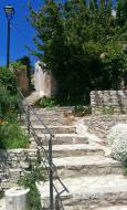 Bellmunt de Segarra: detall carrer  Ramon Sunyer
