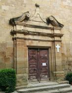 Hostafrancs: porta de l'església  Ramon Sunyer