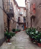 Hostafrancs: detall carrer vila closa  Ramon Sunyer
