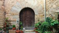 Hostafrancs: Casa amb portal adovellat  Ramon Sunyer