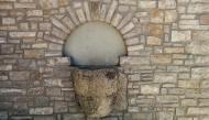 Montpalau: pica baptismal  Ramon Sunyer