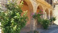 Montpalau: detall casa  Ramon Sunyer