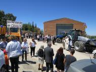 Gra: benedicció de tractors  Ajuntament de Torrefeta i Florejacs