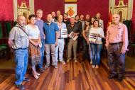 Foto dels representants de les entitats que van participar en l'elaboració del Pla de Paisatge