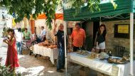 Montfalcó Murallat: parades de la fira  Ramon Sunyer