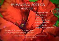 cartell Primaveral poètica de Verdú