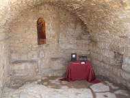 Alta-riba: Estança engalanada pels nomenaments dels nous Amics i Amigues del Castell.  AACSMA