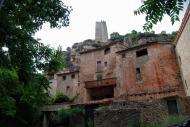 Santa Perpètua de Gaià: Detall del poble  Ramon Sunyer