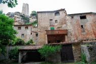 Santa Perpètua de Gaià: Cases a la part baixa  Ramon Sunyer
