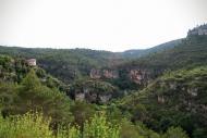 Santa Perpètua de Gaià: El castell al congost  Ramon Sunyer