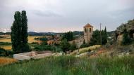 Biure de Gaià: El cementiri i l'església  Ramon Sunyer