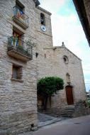 Les Piles: Església Sant Martí neoclàssic (XVIII)  Ramon Sunyer