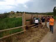 En Toni participava activament a les accions de descoberta i estudi del paisatge de la Segarra