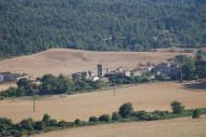 Montealegre: Vista del poble  Ramon Sunyer