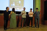 Guissona: Rober Garcia presentant Lo Cercaurts  Lo Cercacurts