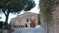 Viver de Segarra: Detall casa  Ramon Sunyer