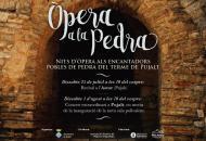 cartell Òpera a la Pedra 2015