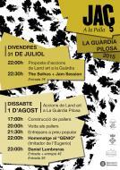 cartell Jaç a la palla 2015