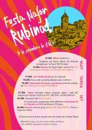 cartell Festa Major de Rubinat 2015
