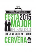 cartell Festa Major del Sant Crist 2015
