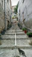 La Curullada: detall carrer  Ramon Sunyer